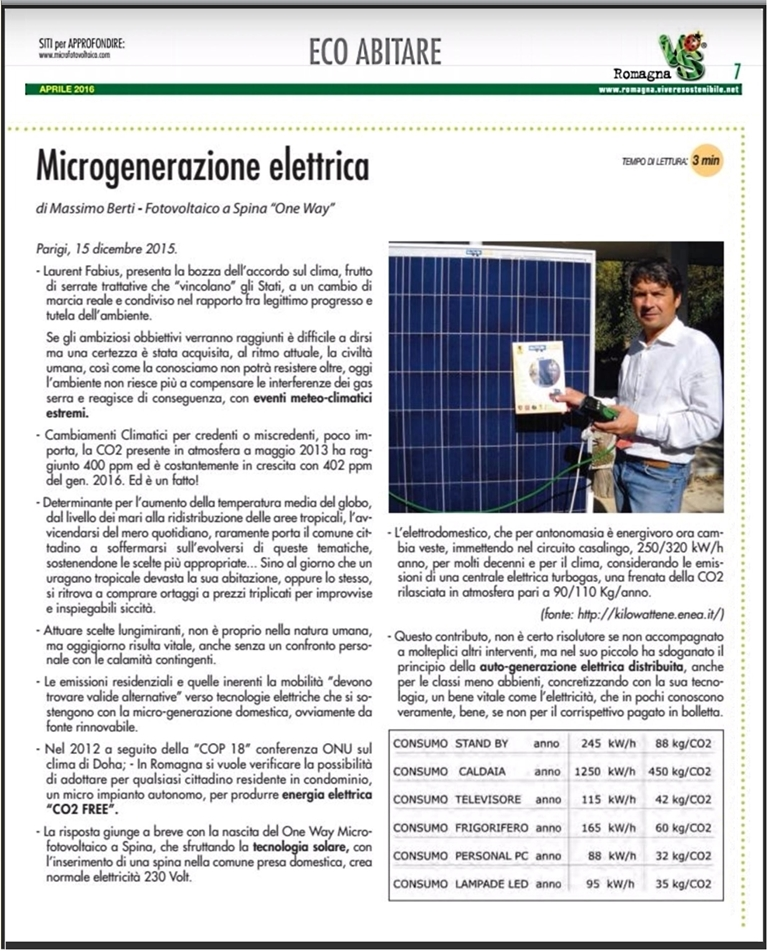 Microfotovoltaico Plug and Play
